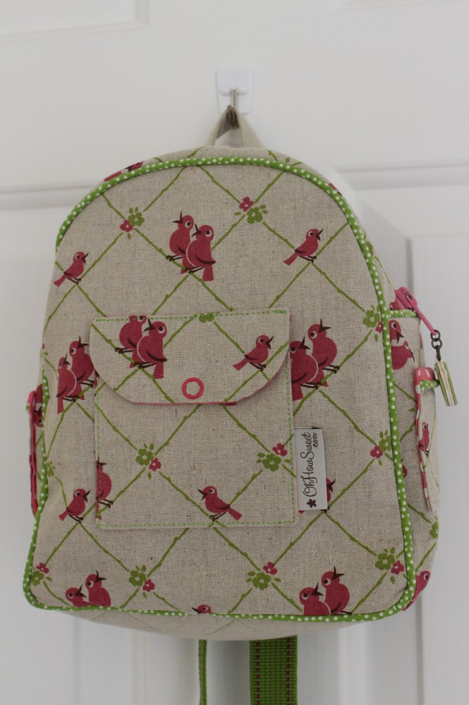 Toddler Backpack front