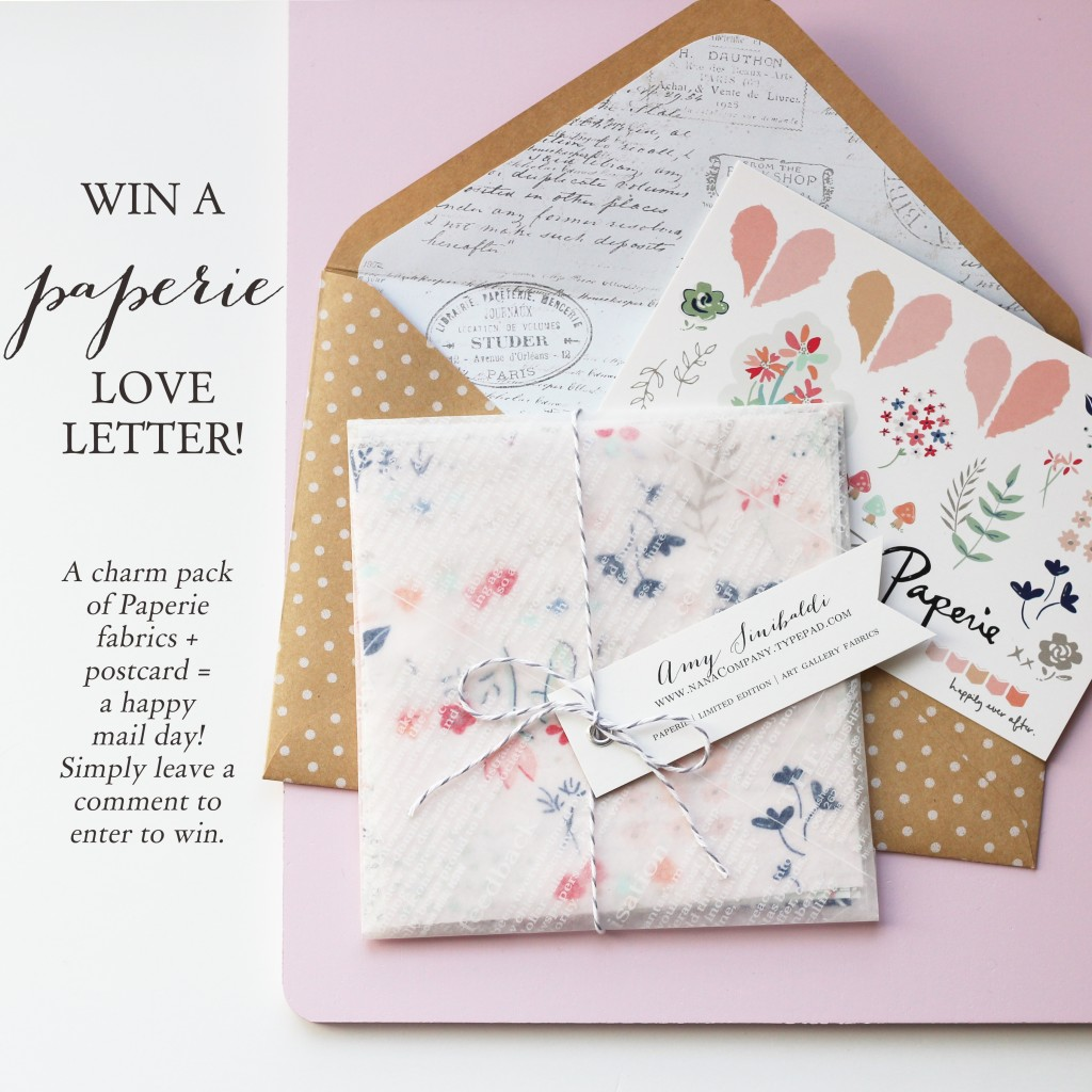 Win some Paperie happy mail!