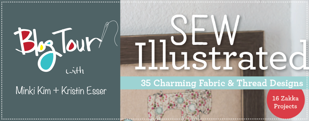 Sew Illustrated blog tour banner